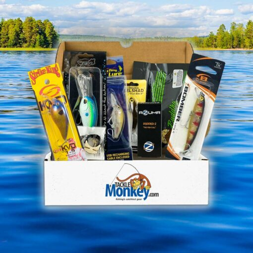 Monthly Bass Tackle Box Subscription | Tackle Box Subscription - Tackle Monkey Box
