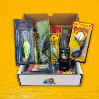 Monthly Bass Tackle Box Subscription | Mystery Tackle Box Subscription - Tackle Monkey Box