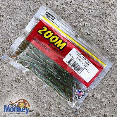 Best Mystery Tackle Box - Zoom Super Salt Plus Finesse Worm