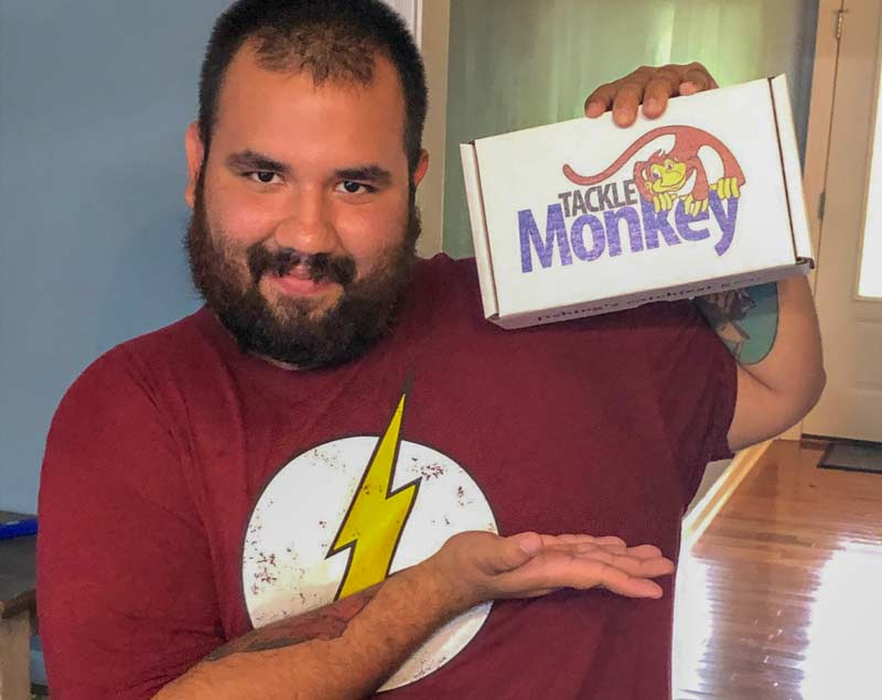 The Best mystery tackle box - Tackle Monkey Subscription box